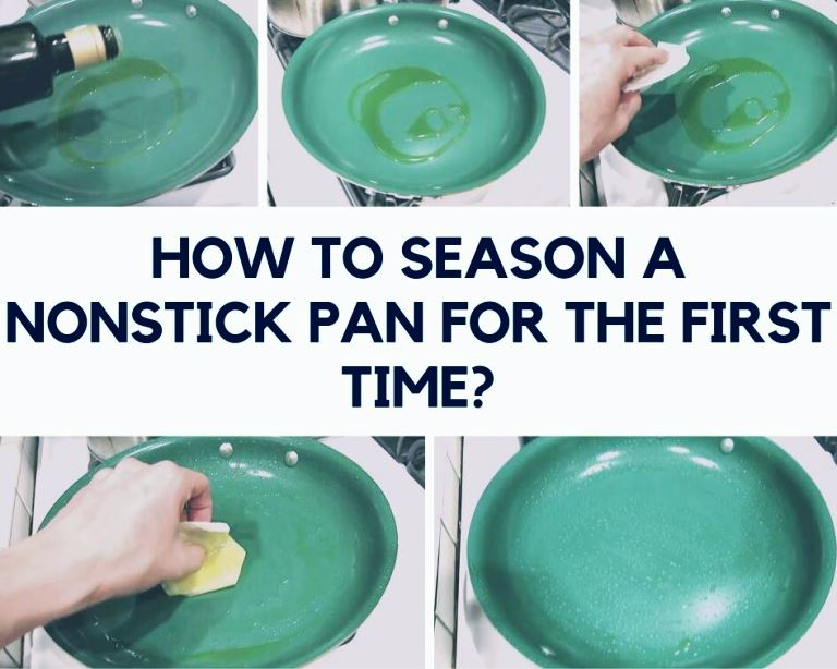 HOW TO SEASON A NONSTICK PAN FOR FIRST TIME