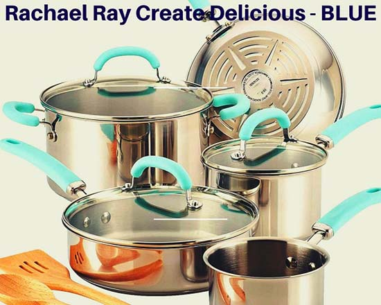 Rachael Ray 10 piece Stainless Steel Cookware Set Reviews - An Ultimate Guide 1