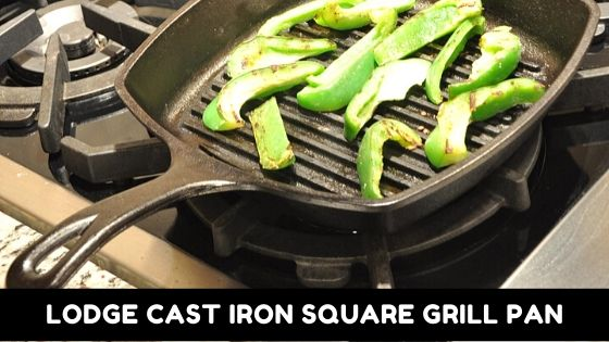 Lodge Cast Iron Square Grill Pan