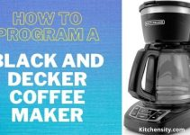 How to program a black and decker coffee maker