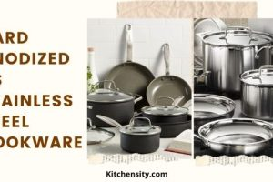 Hard-Anodized Vs Stainless Steel Cookware – A Comprehensive Guide 2021