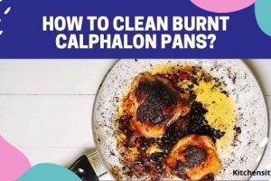 How To Clean Burnt Calphalon Pans? 5 Effective Ways Are Explained