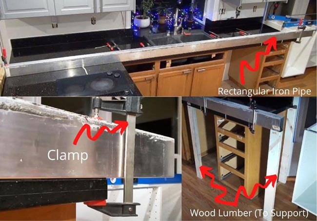 How To Remove Lower Kitchen Cabinets Without Damage