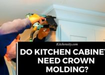 Do Kitchen Cabinets Need Crown Molding? Install With 3 Easy DIY Steps